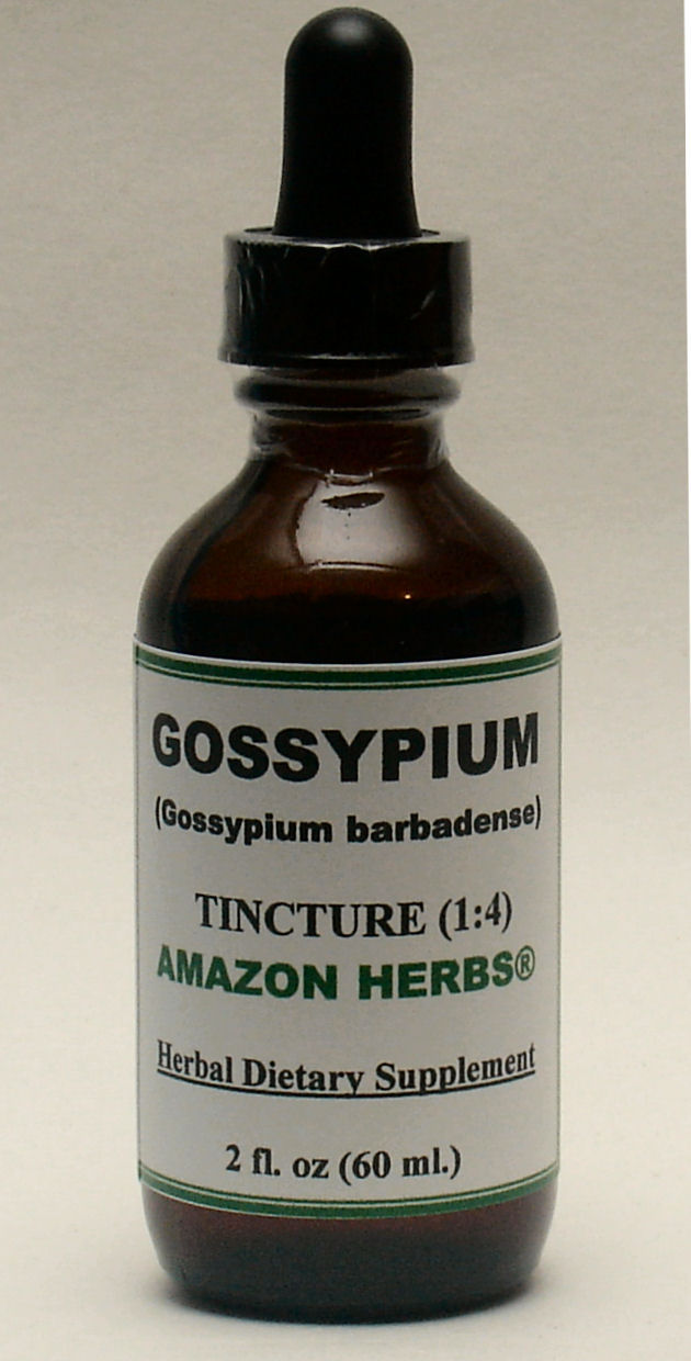 Gossypium barbadense - Sea Island cotton tincture, only for US$18.65 per 2 fl oz.