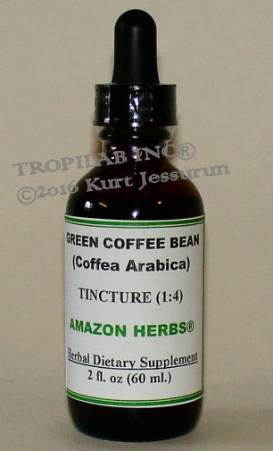 Coffea arabica (Green Coffee bean) tincture